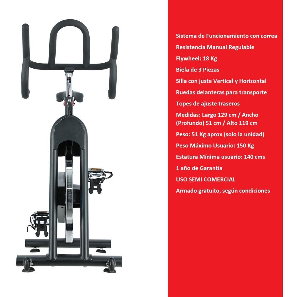 Bicicleta De Spinning Bodytrainer Spn-elt900b image number 1.0