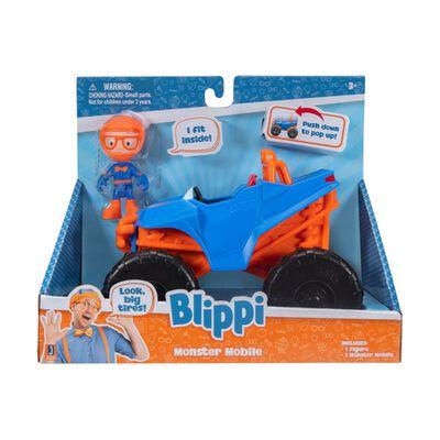 Auto De Juguete Blippi Camión Mostruo
