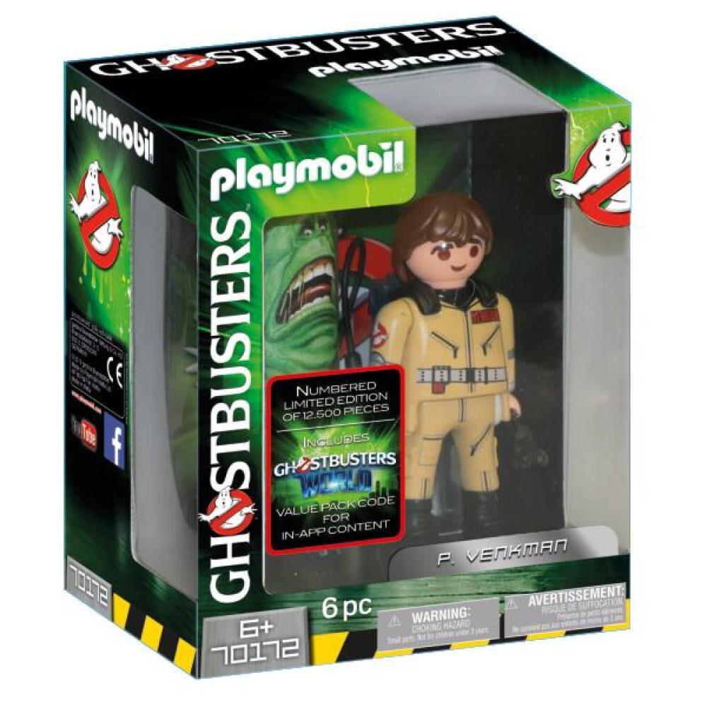 Figura De Película Playmobil Ghostbusters P. Venkman image number 0.0