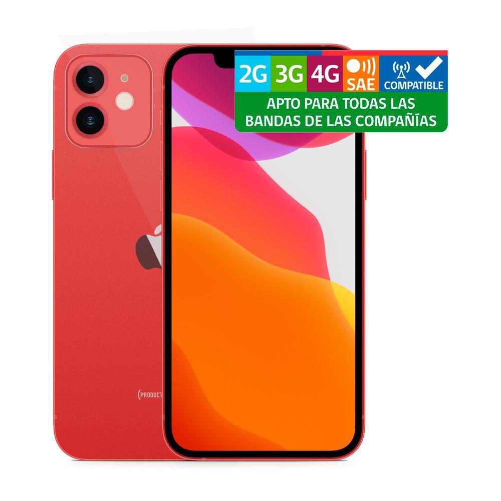 Smartphone Apple Iphone 12 Reacondicionado Rojo / 64 Gb / Liberado image number 2.0