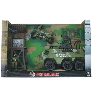 Set De Juguetes Hitoys Set Militar - Camion