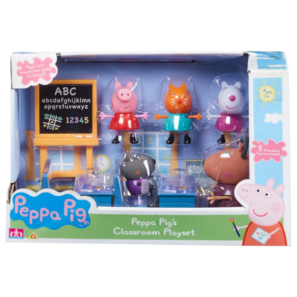 Set Peppa Pig Clasroom image number 0.0