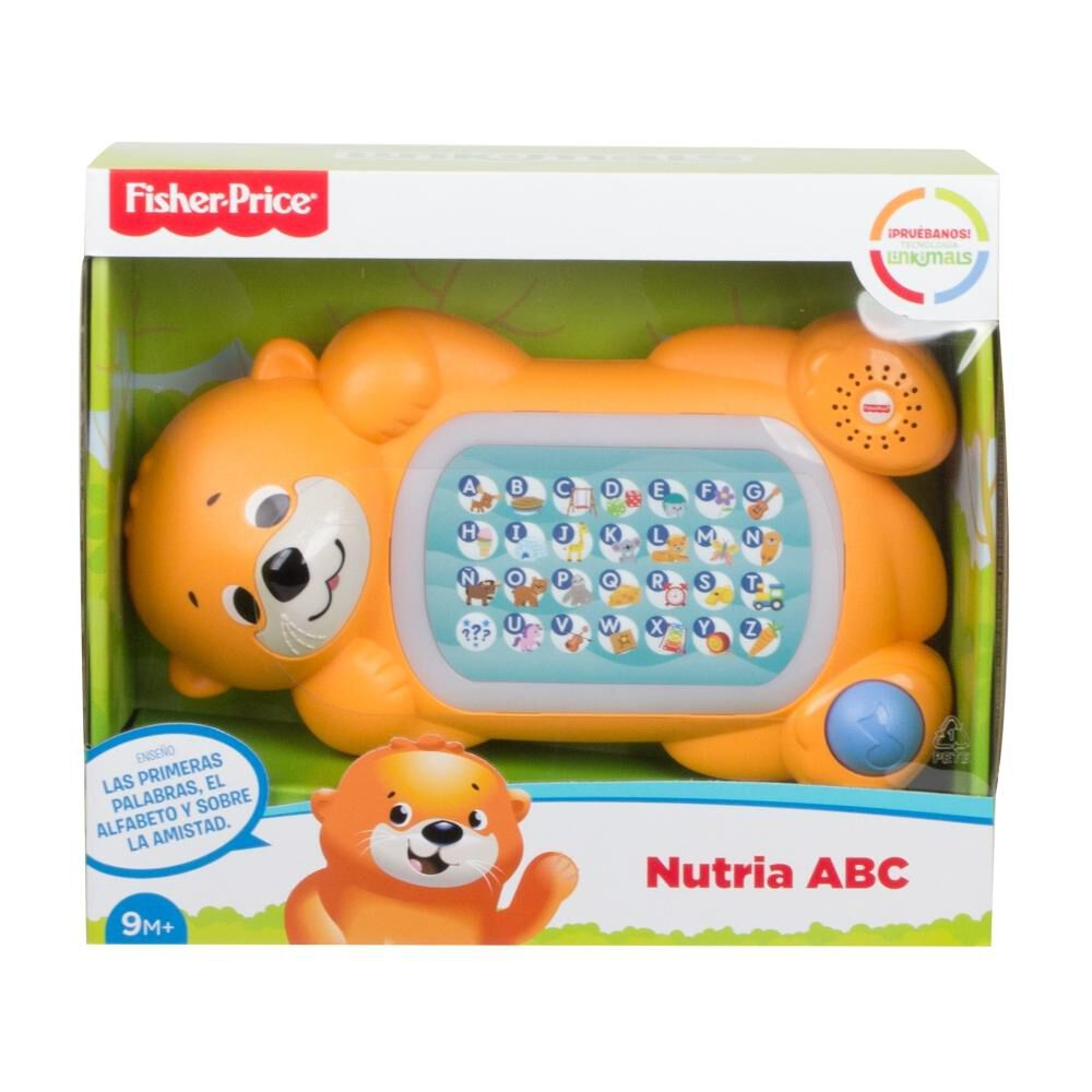 Peluche Didactico Fisher Price Nutria Abc image number 5.0