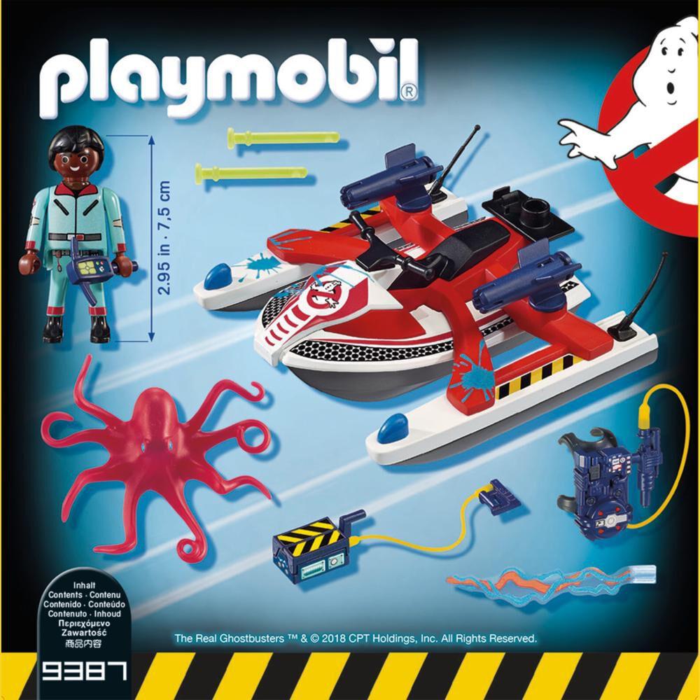 Figura De Acción Playmobil Zaddemore Con Moto De Agua image number 1.0