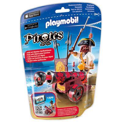 Figura Coleccionable Playmobil Cañón Interactivo Rojo Con Bucanero