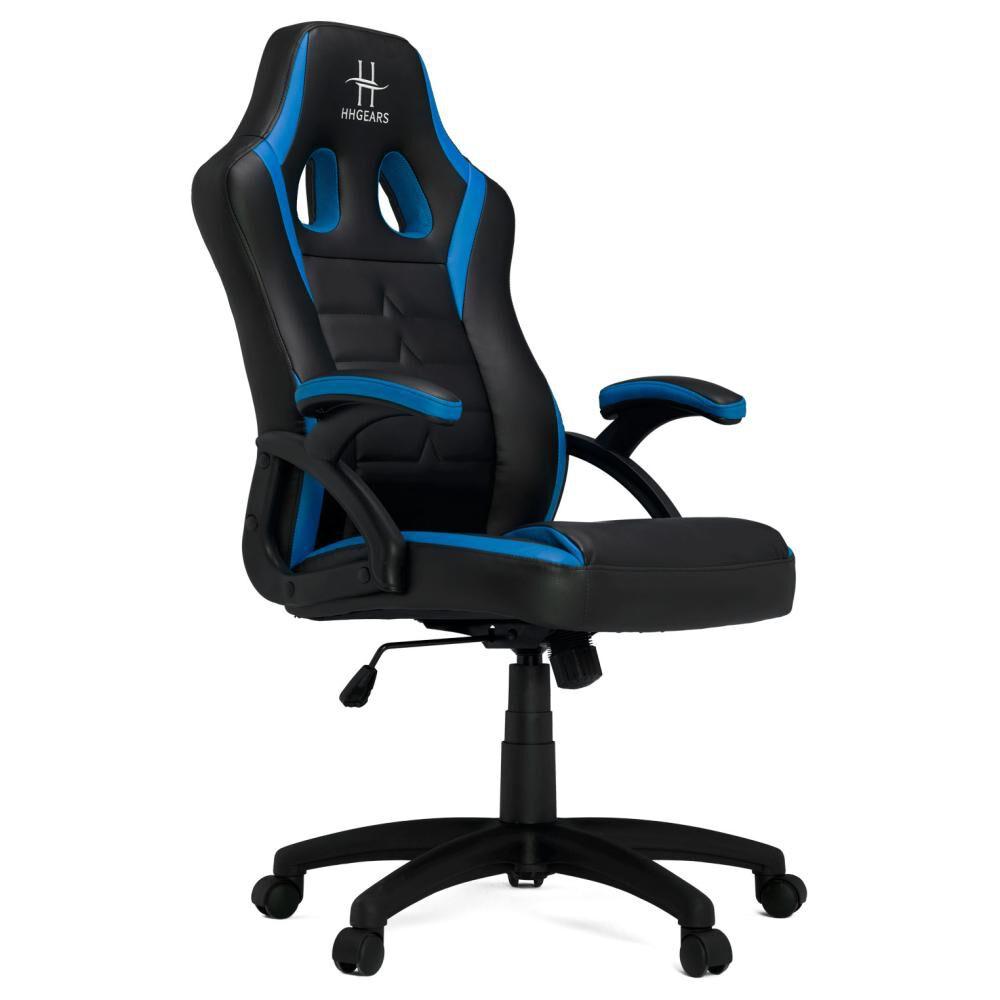 Silla Gamer Hhgear Sm115_bbl Black & Blue Hasta 90 Kg image number 1.0