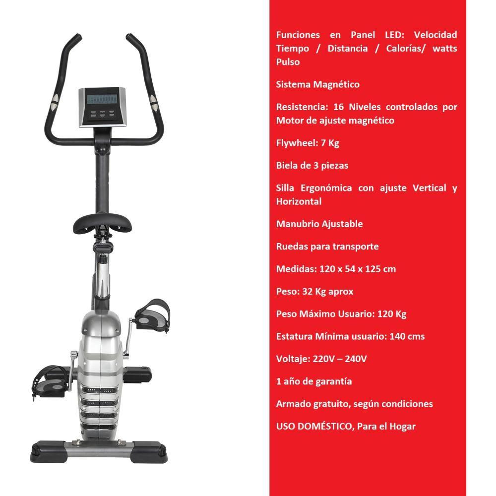 Bicicleta Estática Bodytrainer Bes 600 Mgntc image number 1.0