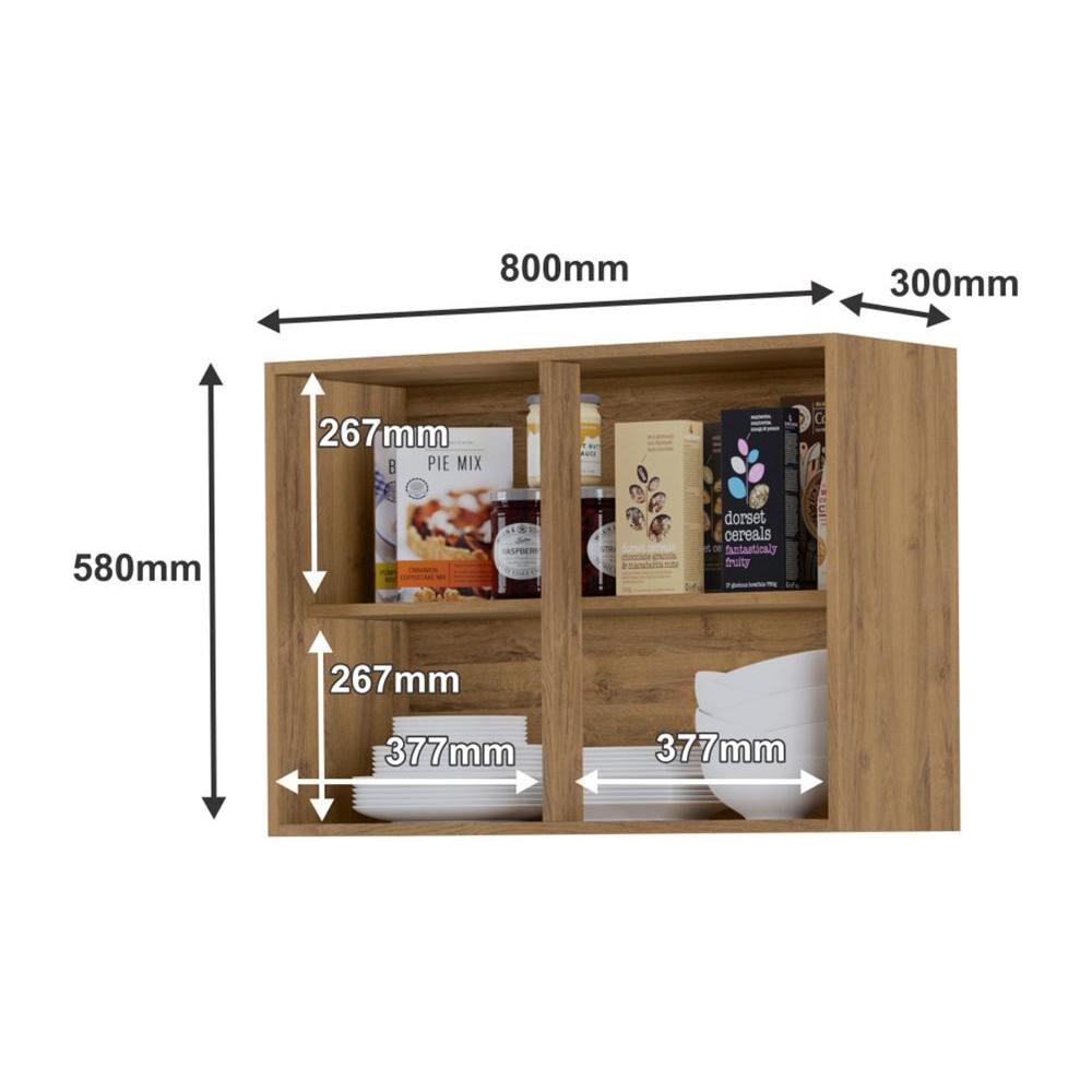 Mueble De Cocina Home Mobili Kalahari/montana / 2 Puertas image number 3.0