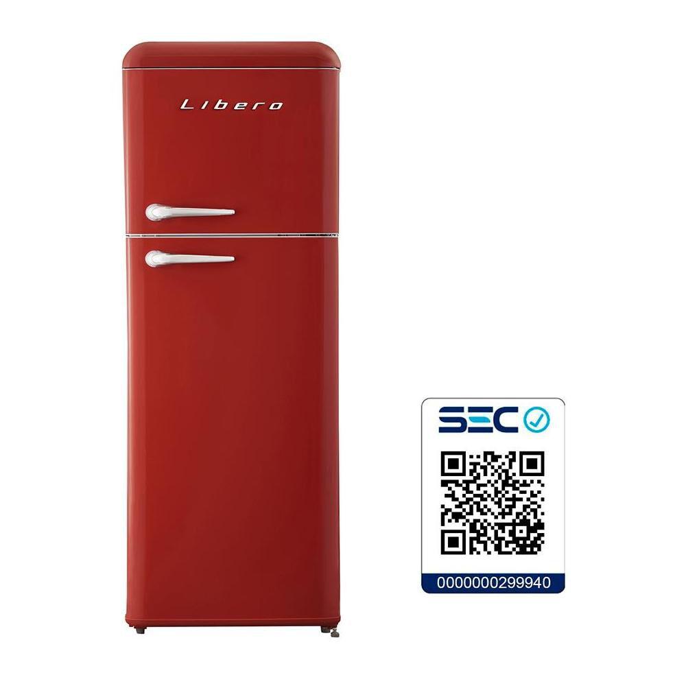 Refrigerador Libero Top Mount Lrt-210Dfrr / Frío Directo / 203 Litros image number 4.0