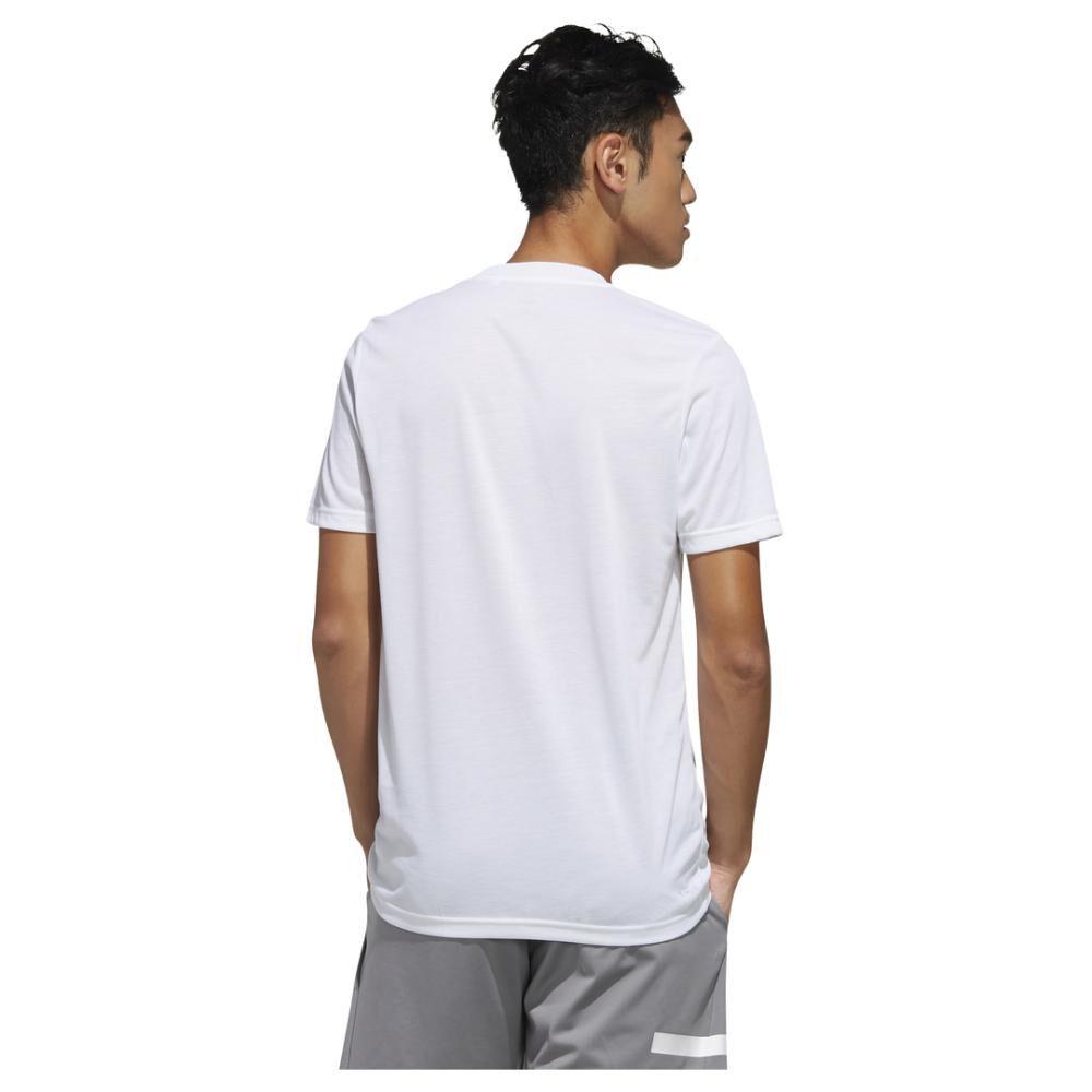 Camiseta Unisex Adidas Designed 2 Move Feel Ready image number 3.0