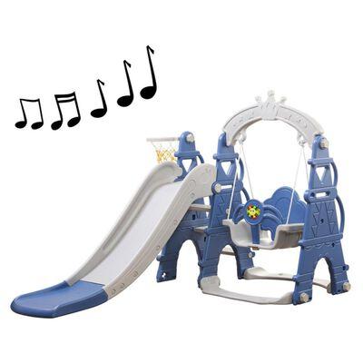 Resbalin Talbot Columpio Musical Azul