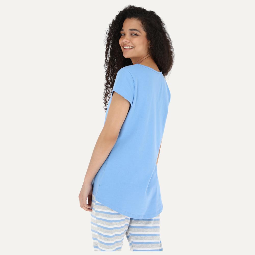 Pijama Mujer Flores / 2 Piezas image number 2.0