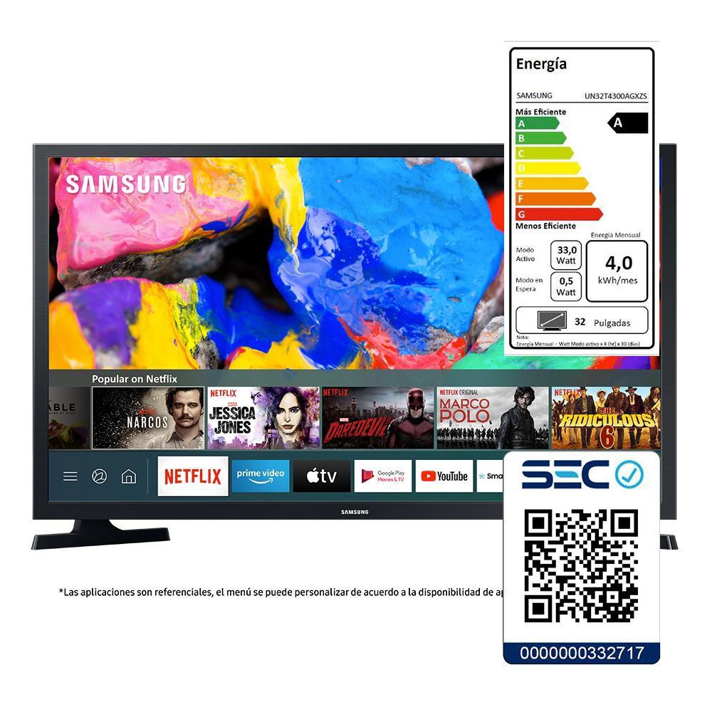 """Led Samsung T4300 / 32 """" / HD / Smart Tv image number 5.0"""