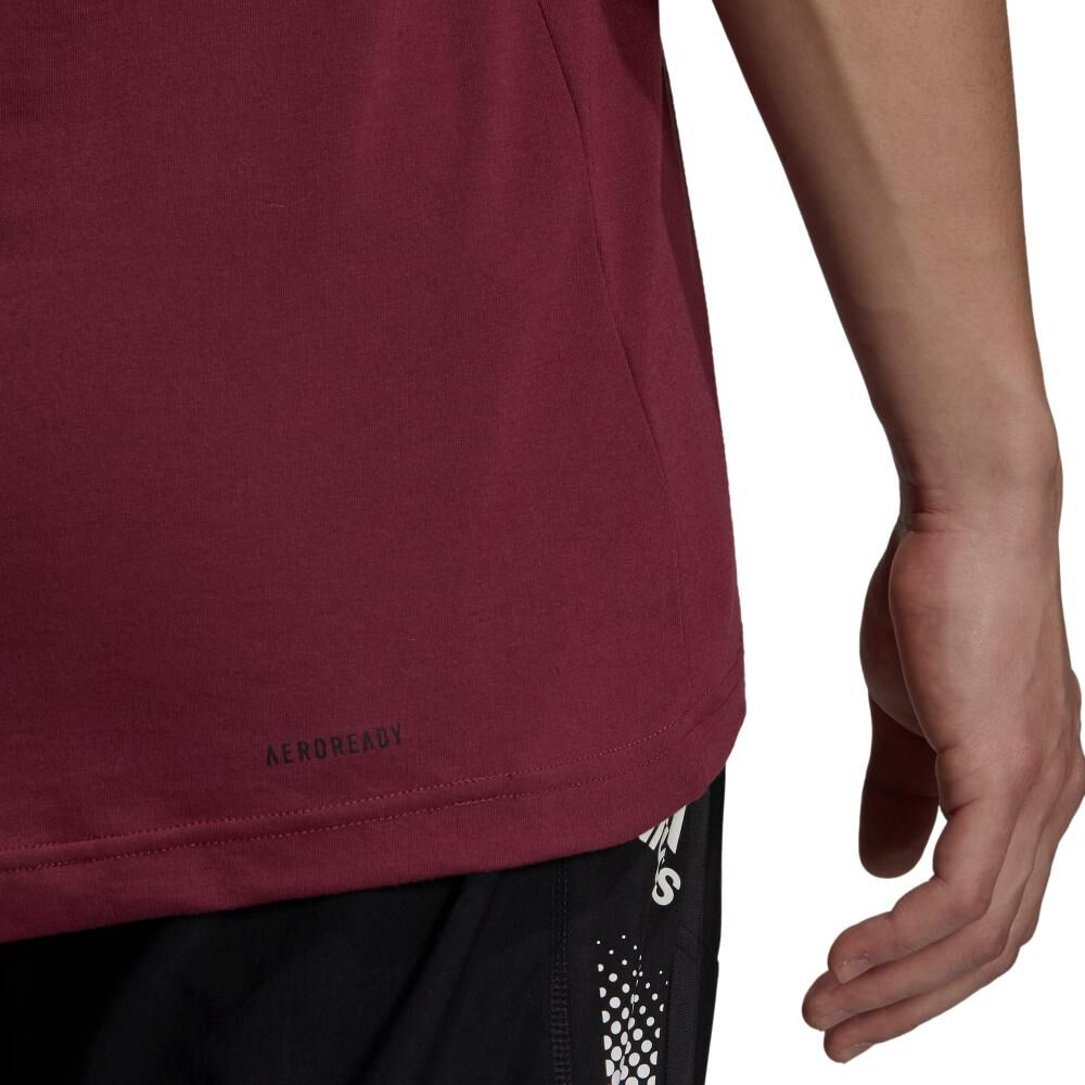 Polera Hombre Adidas D2m Feelready image number 5.0