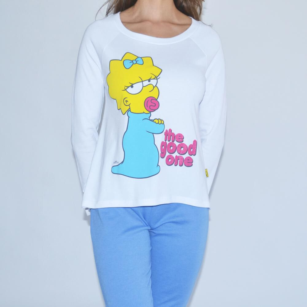 Pijama Mujer Simpsons image number 1.0