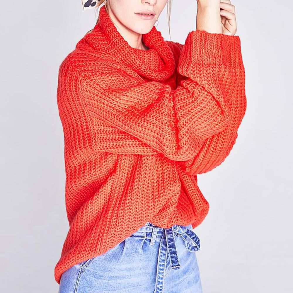 Sweater Cuello Alto Mujer Freedom image number 0.0