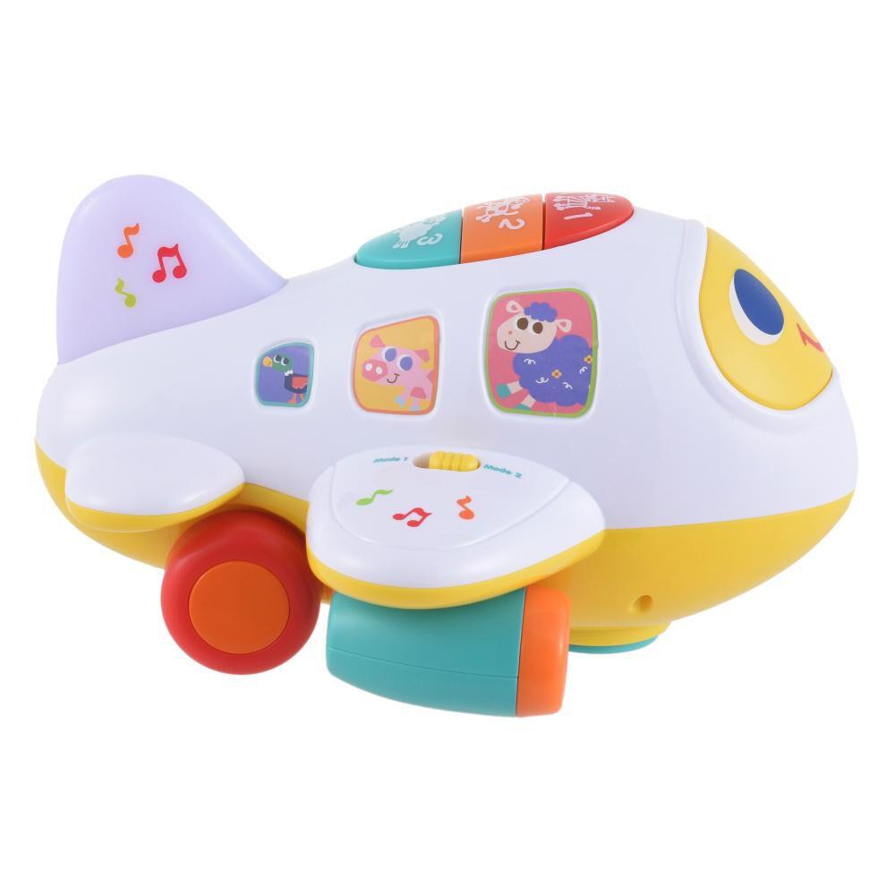 Avión Interactivo Baby Bump & Go image number 1.0