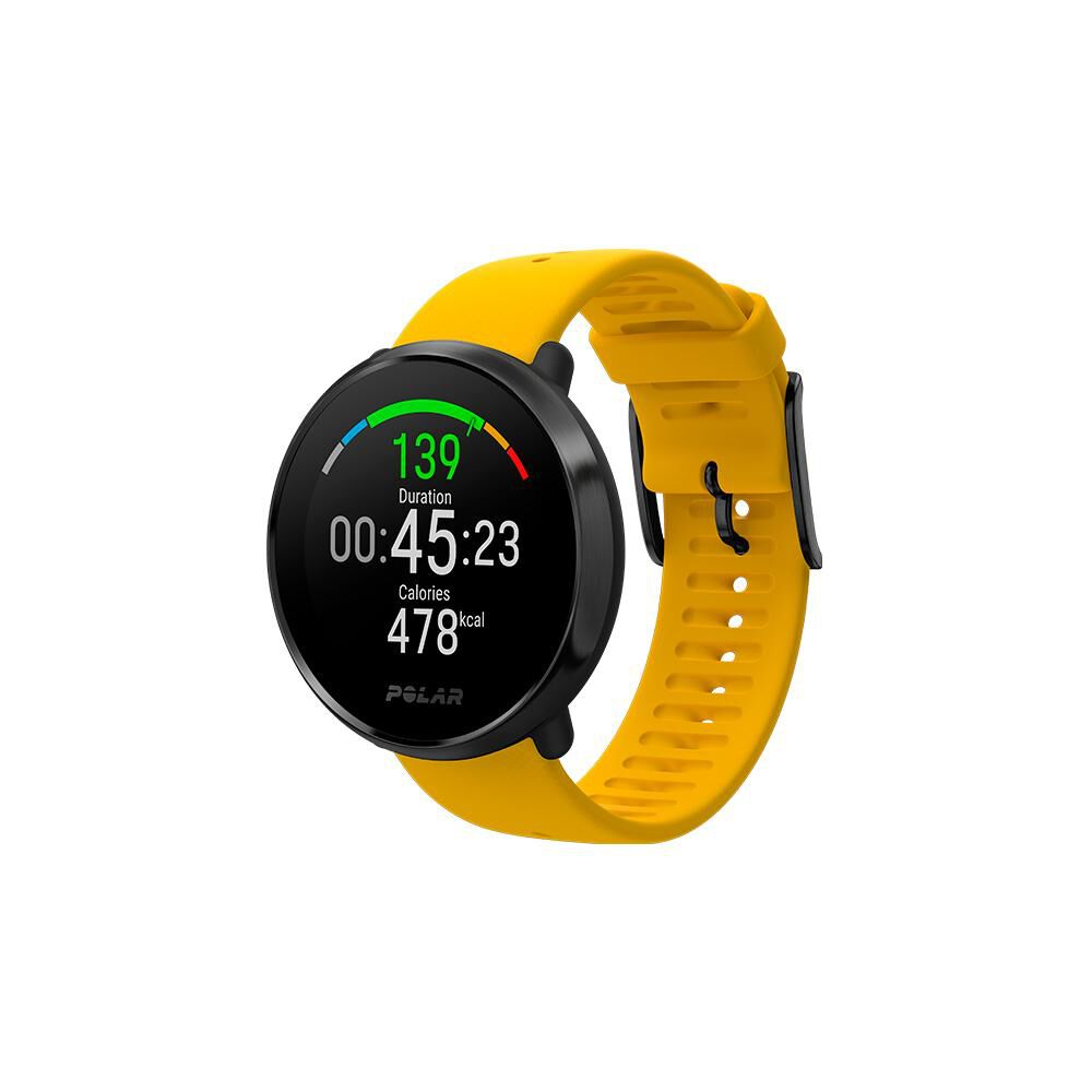 Smartwatch Polar Ignite   Negro / Amarillo image number 0.0