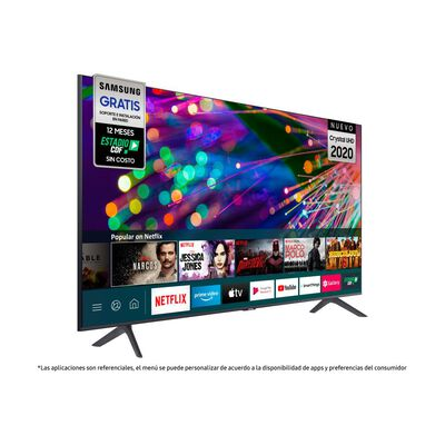 "Led Samsung TU8200 / 75"" / Crystal UHD 4K / Smart Tv 2020"