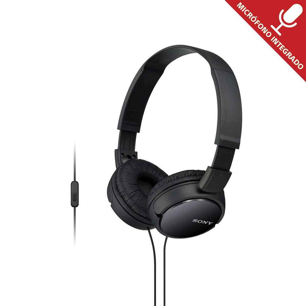 Audifonos Sony Mdr-Zx110Ap Negro image number 0.0