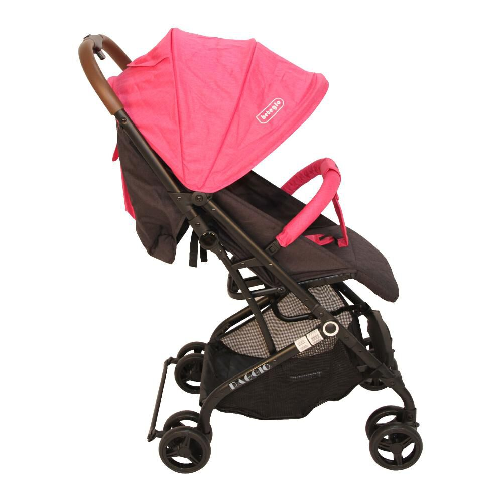 Coche Travel System Compacto Bebeglo RS-13785-2 Fucsia image number 3.0