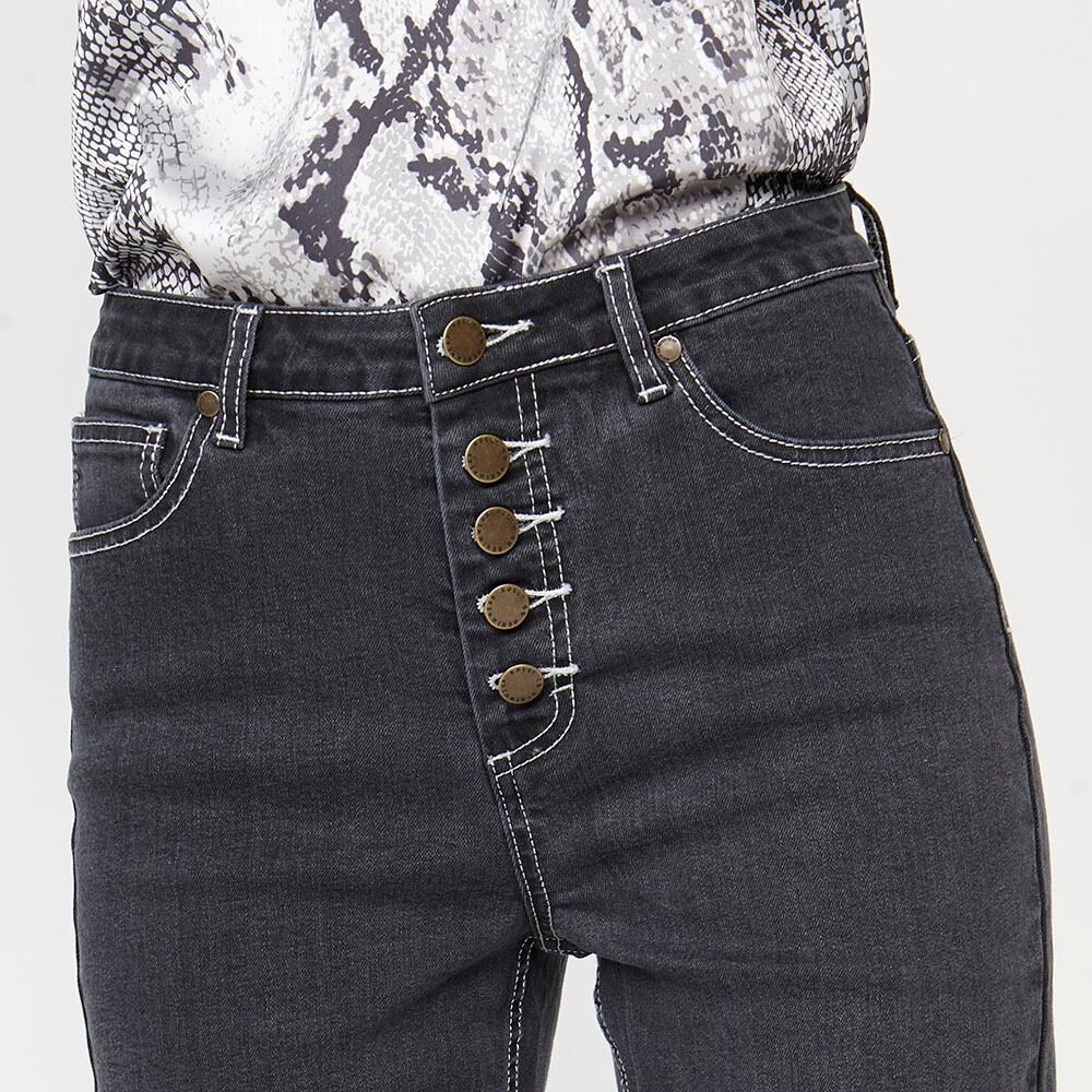 Jeans  Mujer Culotte Rolly Go image number 3.0