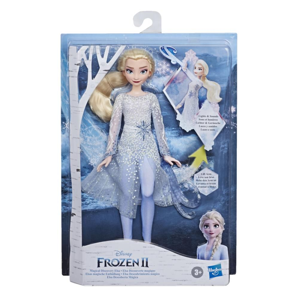 Muñeca Frozen 2 Elsa image number 1.0