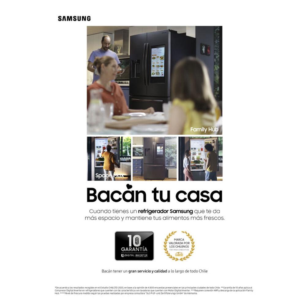 Refrigerador Top Freezer Samsung RT25FARADS8/ZS / No Frost / 255 Litros image number 2.0