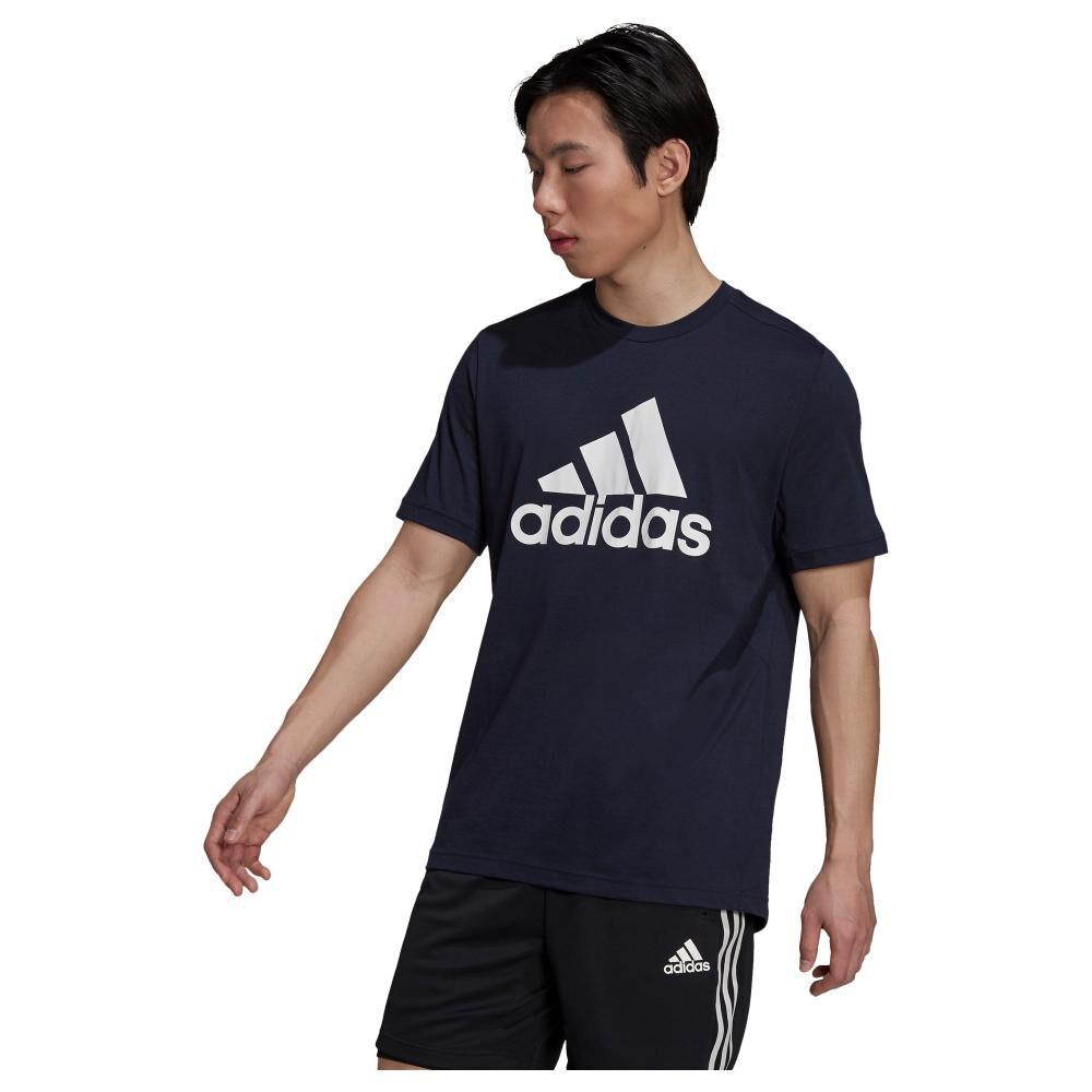 Polera Hombre Adidas D2m Feelready Logo image number 1.0