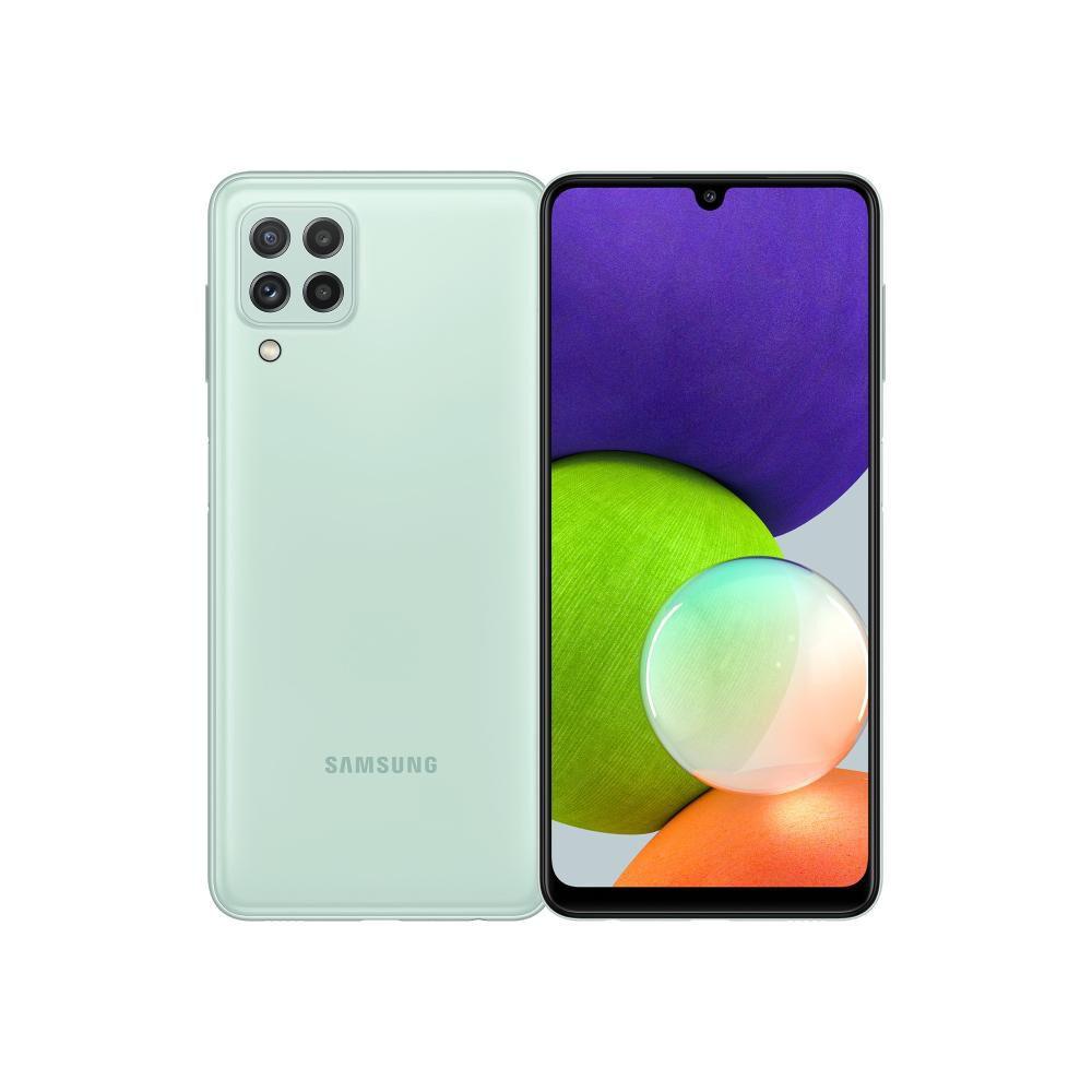 Smartphone Samsung Galaxy A22 Menta / 128 Gb / Liberado image number 0.0