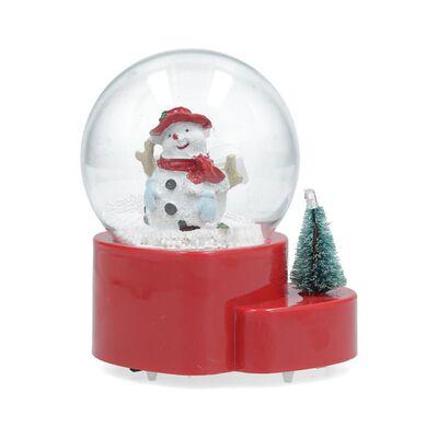 Adorno Navidad Casaideal Bola Mono De Nieve
