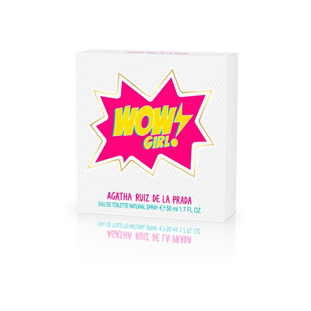 Perfume Agatha Ruiz Wow Girl/ 50 Ml / Edt image number 2.0