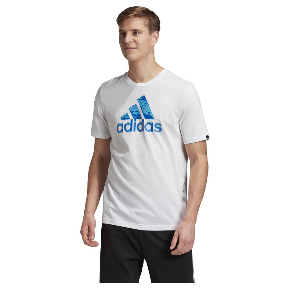 Polera Hombre Adidas Logo Hyperreal image number 0.0