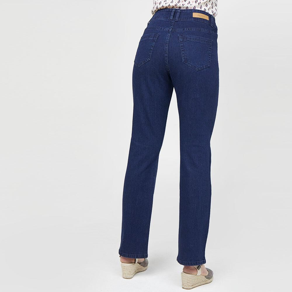 Jeans Mujer Tiro Alto Recto Geeps image number 2.0