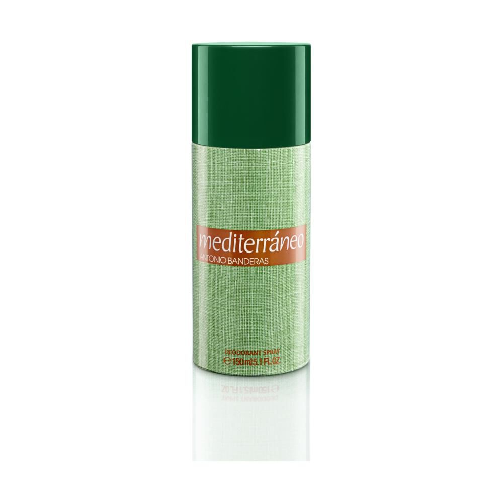 Set Mediterráneo Edt 100ml + Desodorante 150ml Antonio Bandera image number 2.0
