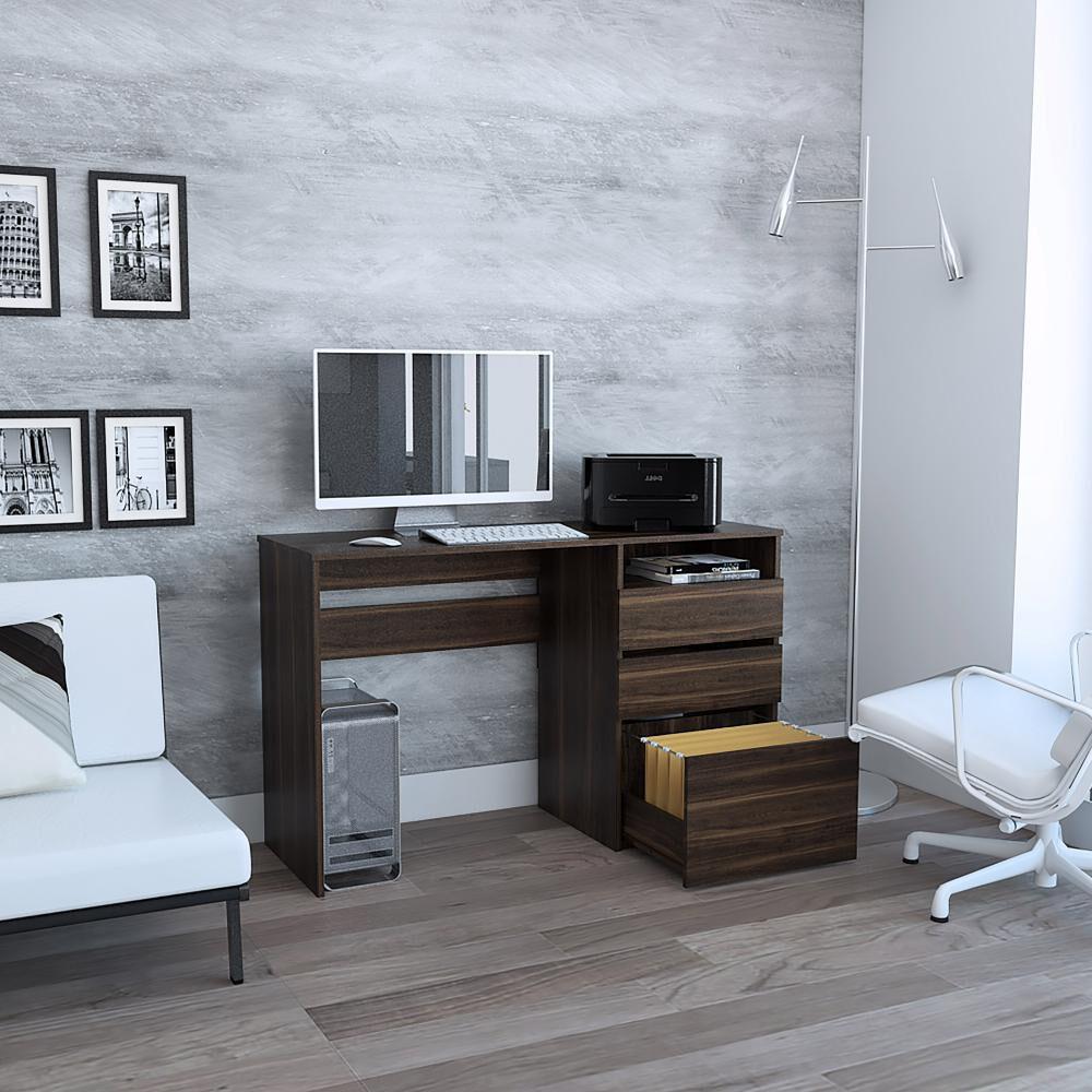 Escritorio Casaideal Office 6 / 3 Cajones / image number 1.0