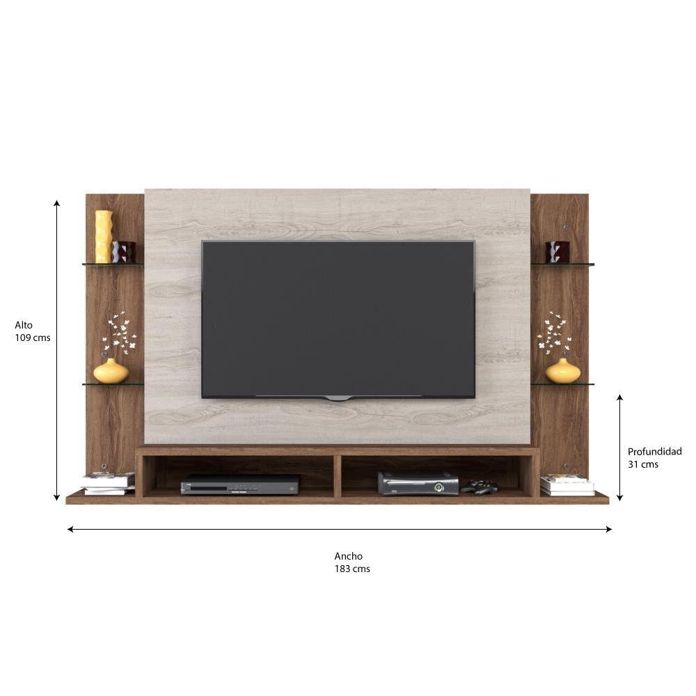 Panel Tv Exit Malbec image number 4.0