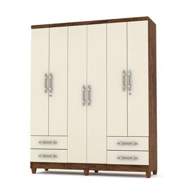 Closet Jdo&Desing Imbua / 6 Puertas / 4 Cajones