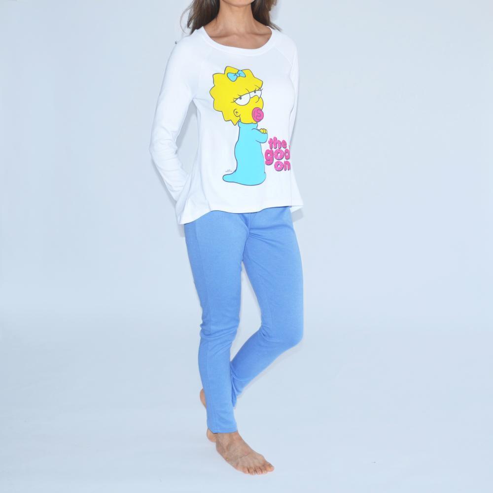 Pijama Mujer Simpsons image number 0.0