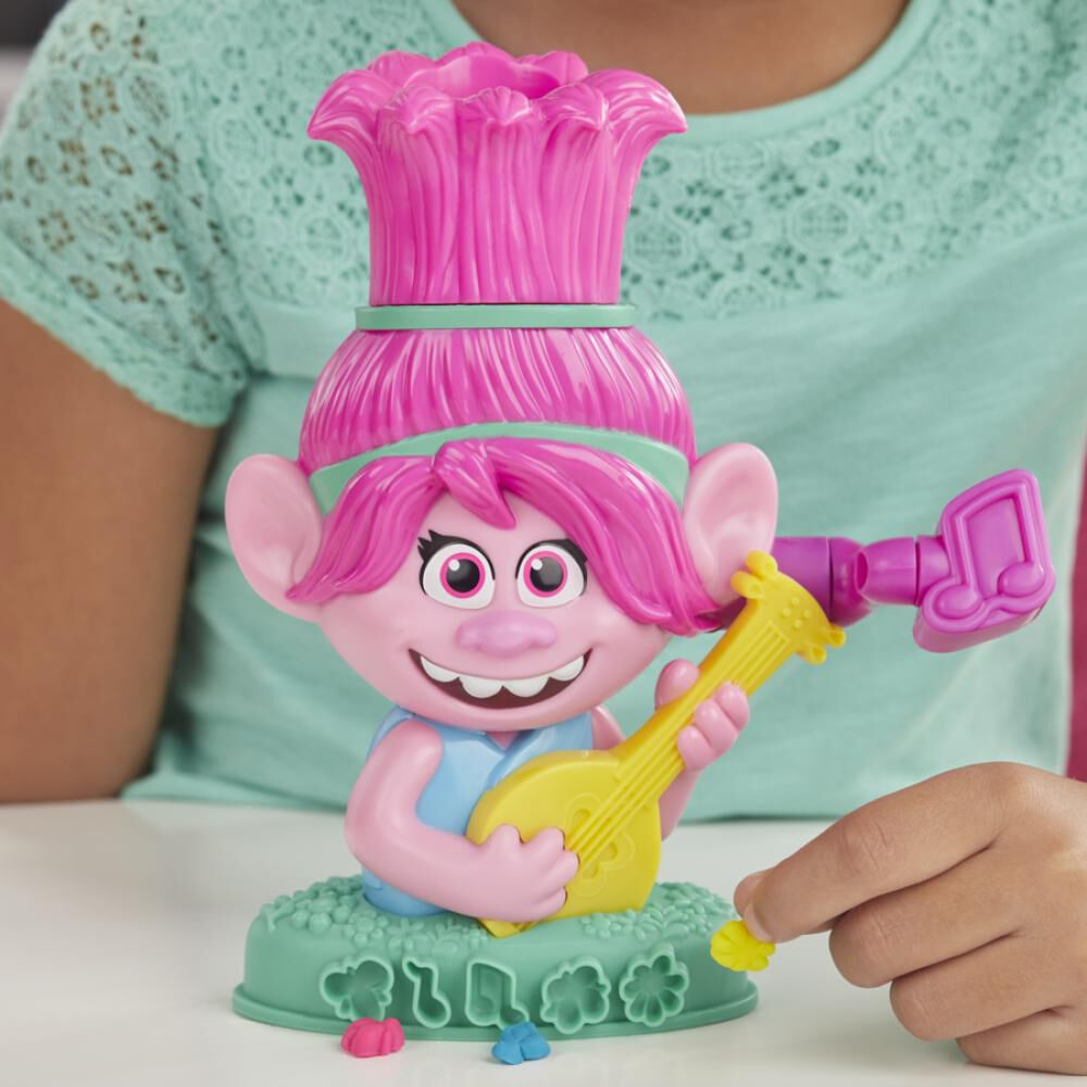 Masas Educativas Play Doh Trolls Poppy Cabello image number 3.0