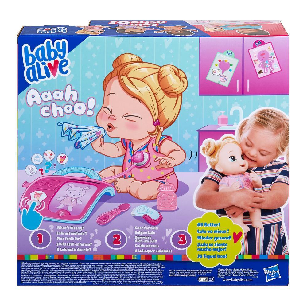 Muñeca Baby Alive Lulu Achoo image number 3.0