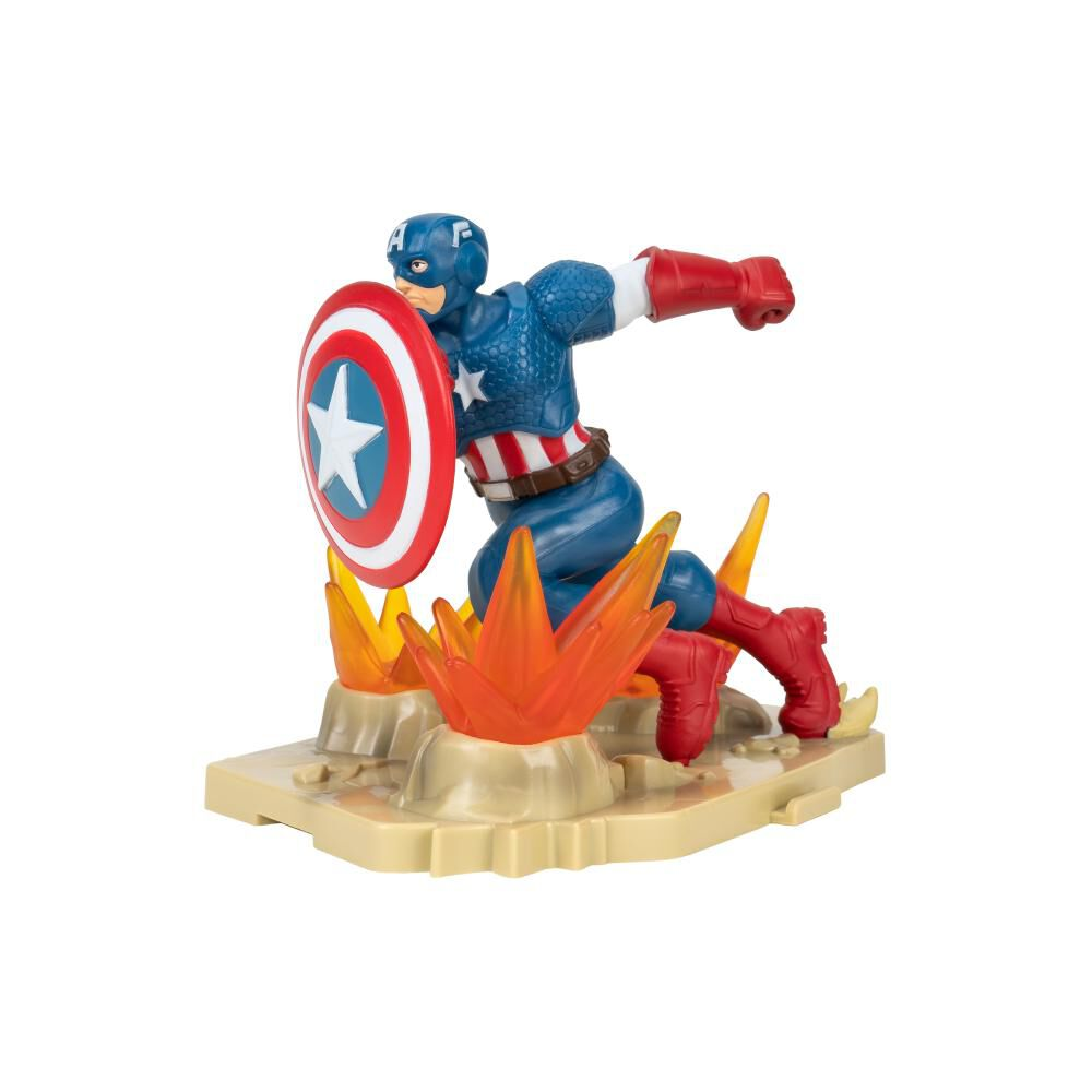 Figura De Acción Zoteki Avengers Capitán America image number 1.0