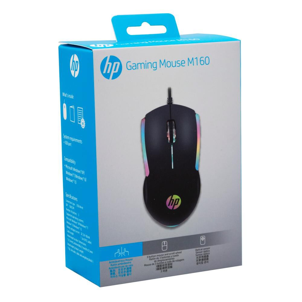 Mouse Gamer Hp M160 image number 4.0