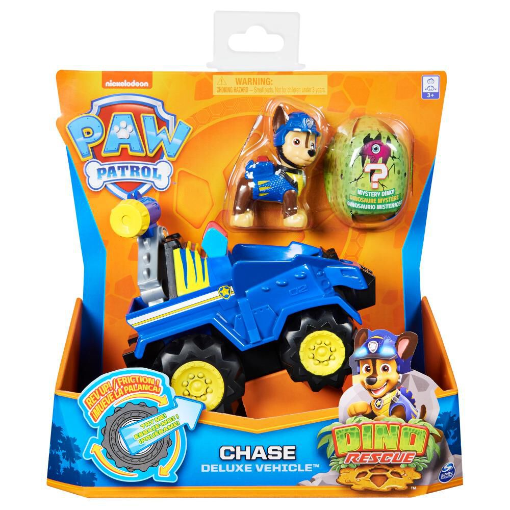 Figura Paw Patrol Chase Vehículo image number 5.0