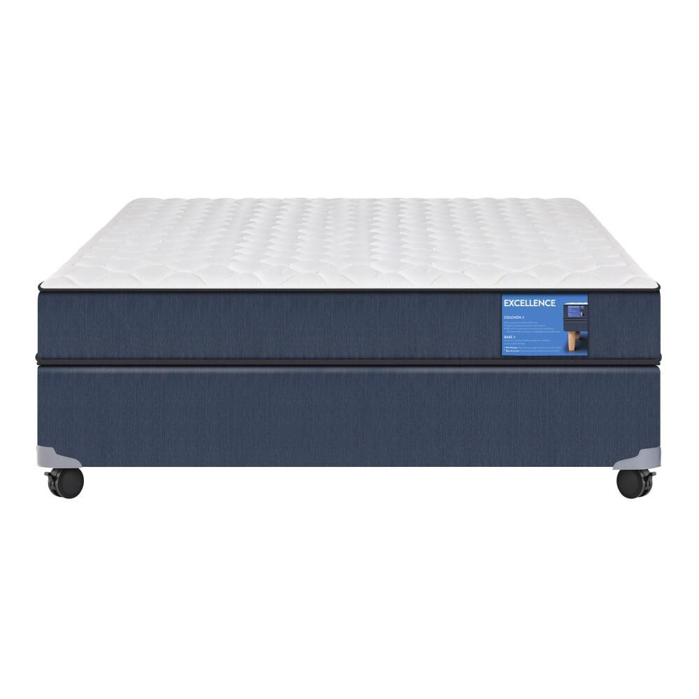 Cama Americana Cic Excellence / 2 Plazas / Base Normal image number 0.0