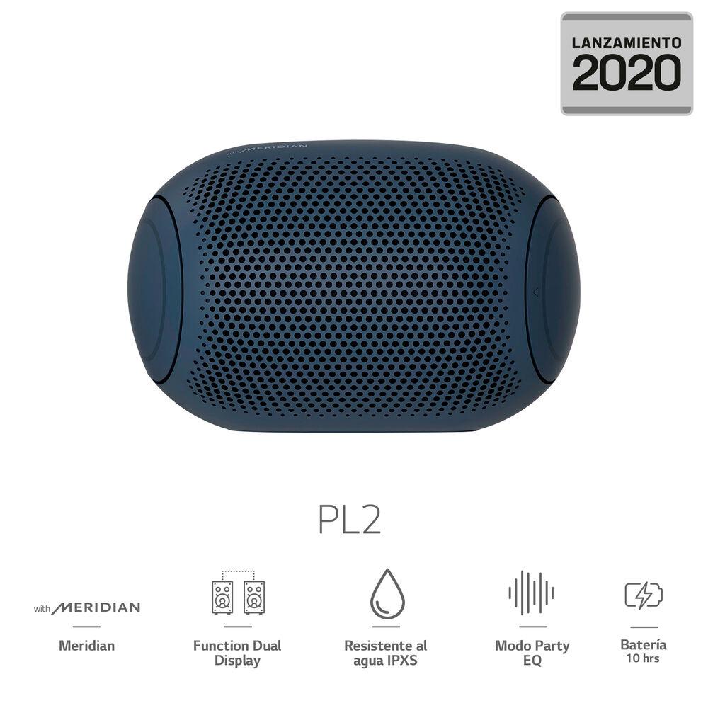 Parlante Portatil Bluetooth LG XBOOM Go PL2 2020 image number 0.0