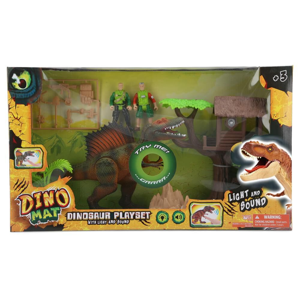 Set De Juguetes Dino Mat Playset image number 0.0