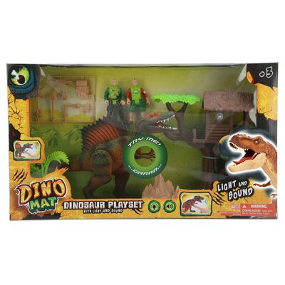 Set De Juguetes Dino Mat Playset
