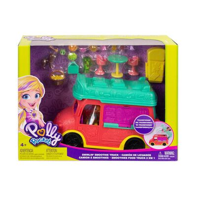 Muñeca Polly Pocket Camión Licuados
