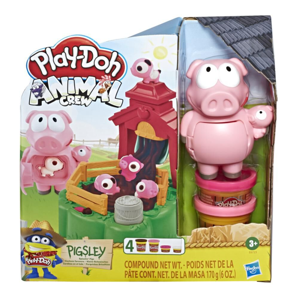 E6723 Play-Doh Animals Pigsley image number 1.0